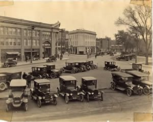 Center of Cranford - 1925
