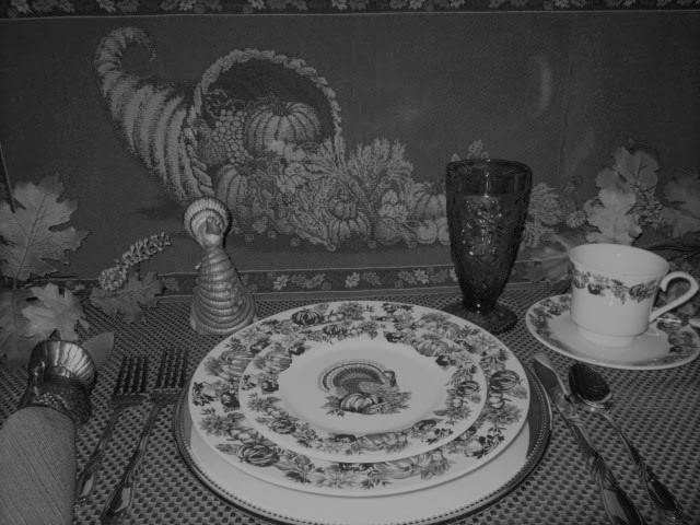 Thanksgiving Decorating Suggestions and a Party Trick from a Century Ago