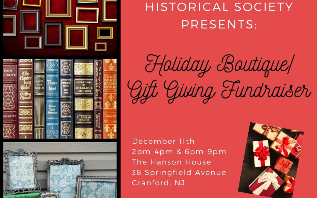 Holiday Boutique Gift Giving Fundraiser