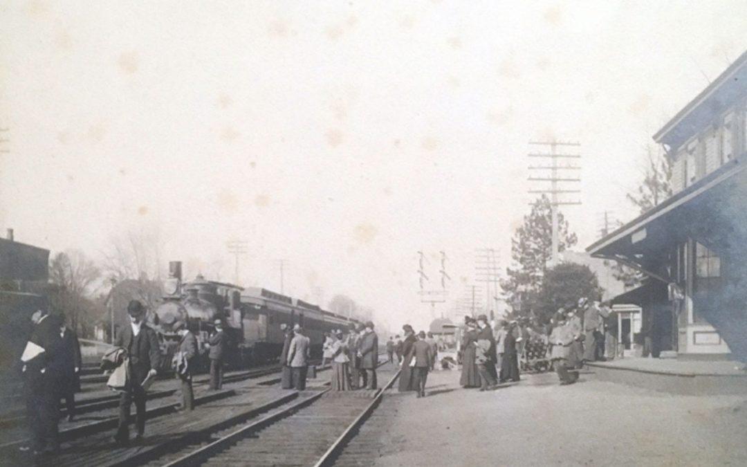 Trains Through Cranford & A History of the Railroad